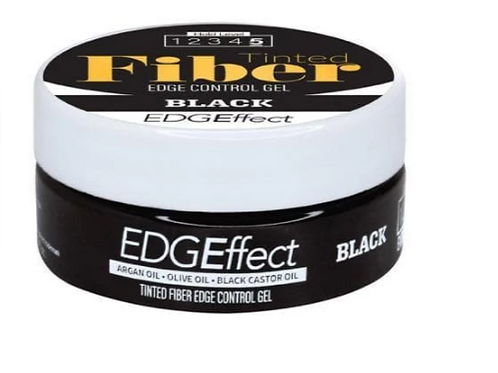 EDGE CONTROL WITH ARGAN/OLIVE/ BLACK CASTOR OIL-BLACK 1 OZ