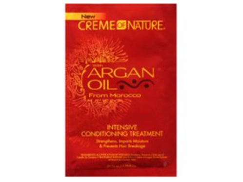 CREME OF NATURE ARGAN PROF INTENSIVE CONDITIONER TREATMENT PACKET 1.75 OZ