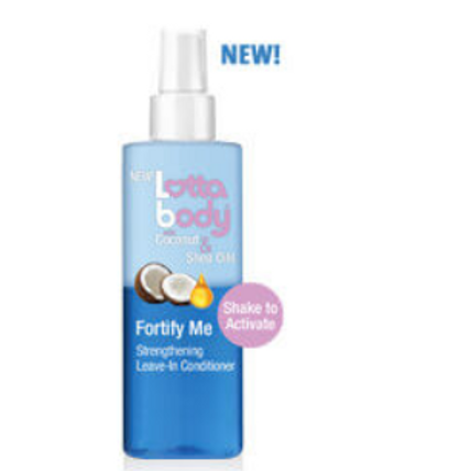 LOTTABODY COCONUT & SHINE FORTIFY ME LEAVE-IN CONDITIONER