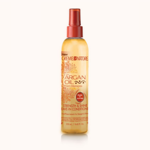 CREME OF NATURE ARGAN STRENGTH N SHINE LEAVE IN CONDITIONER