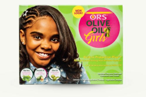 ORS GIRLS NO LYE CONDITIONING HAIR RELAXER KIT