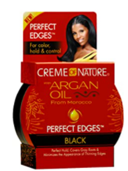 CREME OF NATURE ARGAN PERF EDGE BLACK