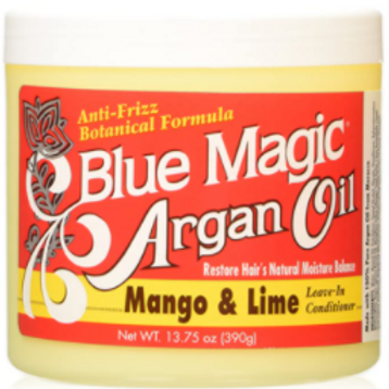 BLUE MAGIC ARGAN OIL MANGO & LIME LEAVE IN COND