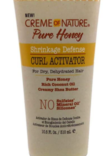 CREME OF NATURE PURE HONEY TEXTURE CURL TEXTURIZING SETTING LOTION