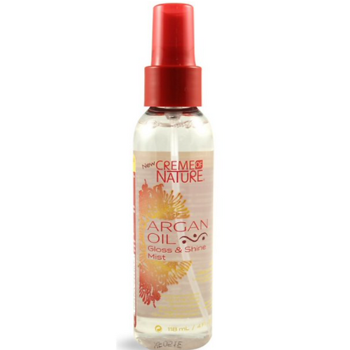 CREME OF NATURE ARGAN GLOSS SHINE MIST 4 OZ