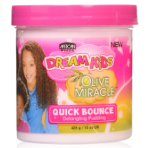 AFRICAN PRIDE DREAM KIDS QUICK BOUNCE DETANGLER PUDDING 15 OZ