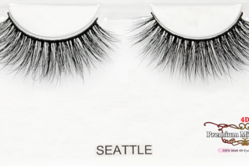 4D Mink Lashes-Seattle