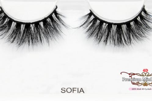 4D Mink Lashes-Sofia