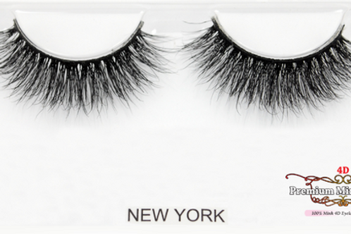 4D Mink Lashes-New York