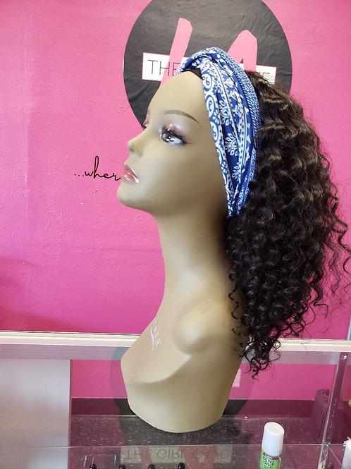 Deep Wave Headband Wigs (Natural Color)