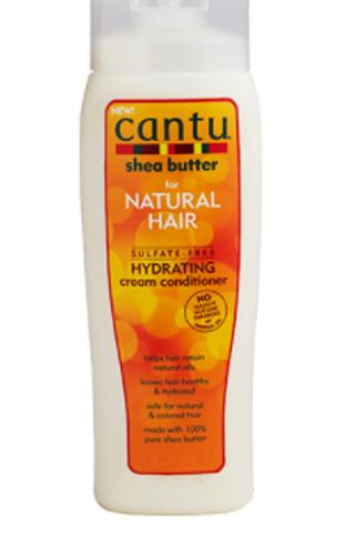 CANTU SHEA BUTTER NATURAL HAIR SULFATE-FREE HYDRAT CREAM  CONDITIONER 13.5 OZ