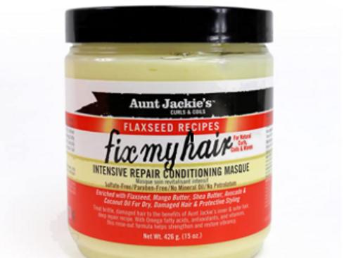 AUNT JACKE'S FLAX FIX MY HAIR MASQUE