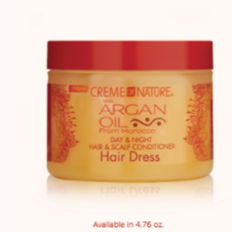 CREME OF NATURE ARGAN DAY & NIGHT HAIR & SCALP CONDITIONER