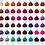 Thumbnail: ADORE: SEMI-PERMANENT HAIR COLOR 4 OZ (assorted colors)
