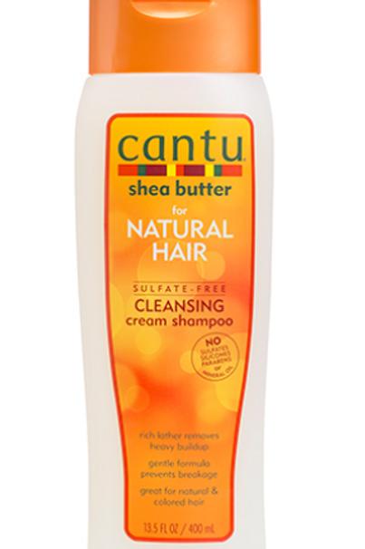 CANTU SHEA BUTTER NATURAL HAIR SULFATE-FREE CREAM SHAMPO 13.5 OZ