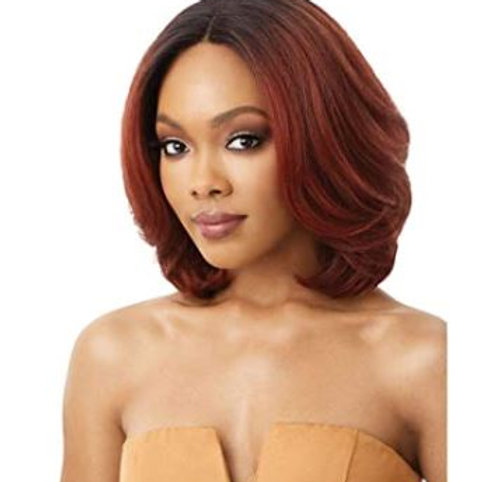 Outre Neesha Soft & Natural Synthetic Swiss Lace Front Wig NEESHA
