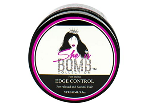 SHE IS BOMB EDGE CONTROL