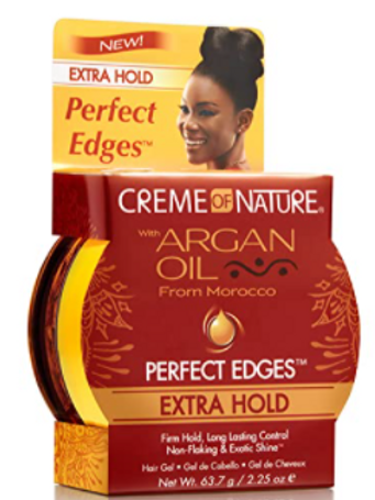 CREME OF NATURE ARGAN PERFECT EDGES XTRA HOLD