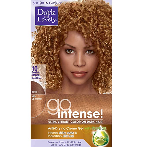 Dark & Lovely Color Go Intense Permanent Hair Color