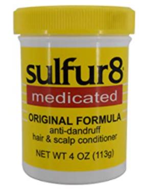 SULFUR-8 HAIR/SCALP ORIGINAL 4 OZ