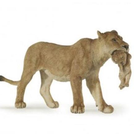 Figurine Papo - Lionne avec lionceau
