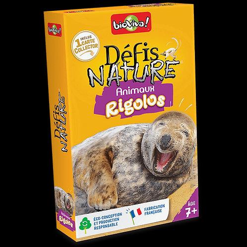 Défis Nature - animaux rigolos