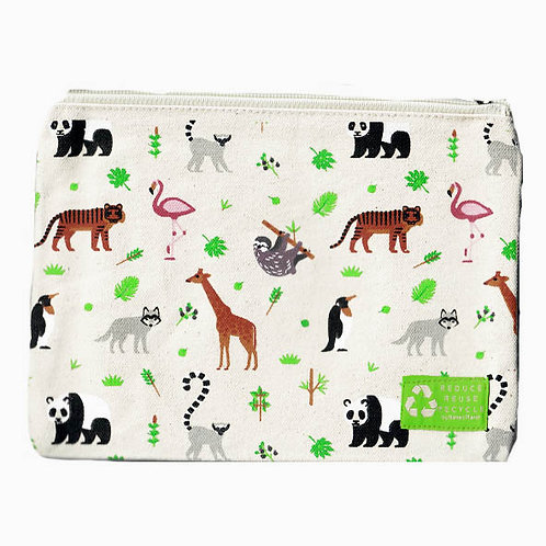 Pochette animaux sauvages