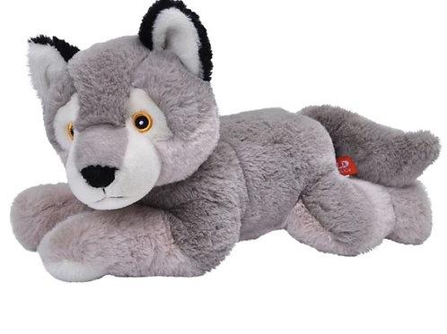Peluche Loup 30 cm - 100% recyclée
