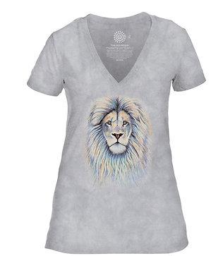 Tee-shirt femme lion - The Mountain