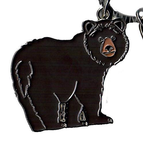 Porte-clés métal - ours