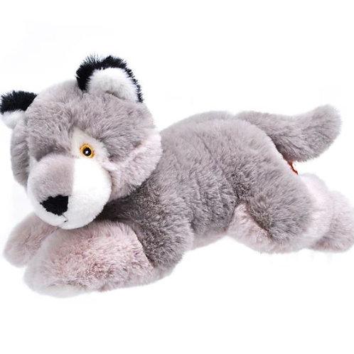 Peluche Loup 20 cm - 100% recyclée