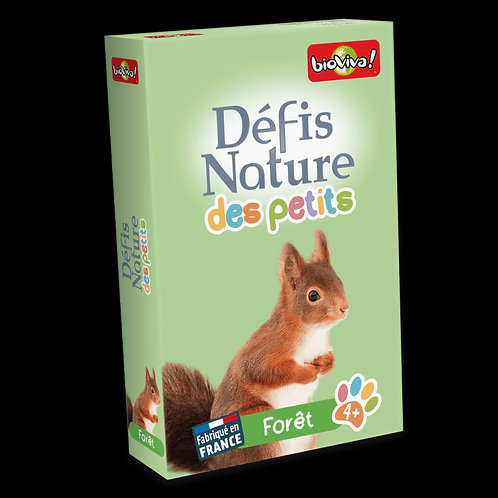Défis Nature - Pour les petits - Forêt