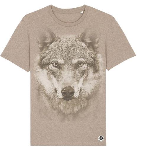 Tee shirt homme loup
