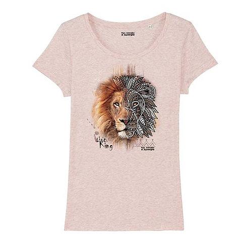 Tee-shirt femme lion