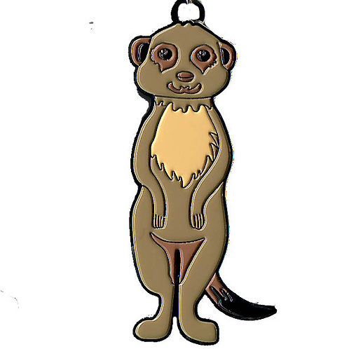 Porte-clés métal - suricate
