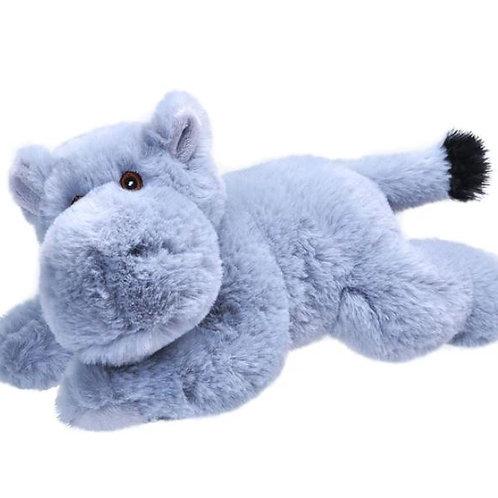 Hippopotame 20 cm - 100% recyclée