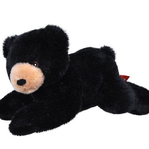 Ours noir 20 cm - 100% recyclée