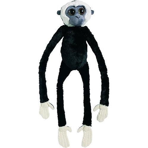 Peluche Gibbon à mains blanches 100 cm