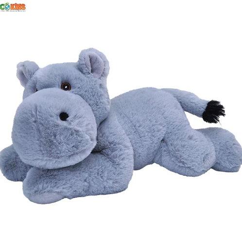 Peluche Hippopotame 30 cm - 100% recyclée