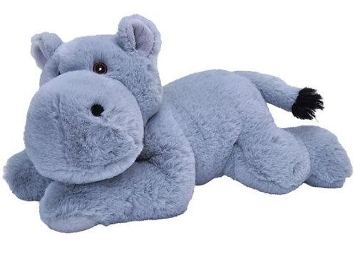 Hippopotame 30 cm - 100% recyclée