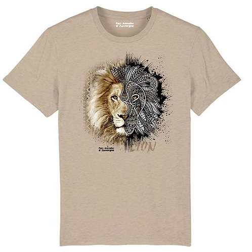 Tee Shirt Unisexe Lion