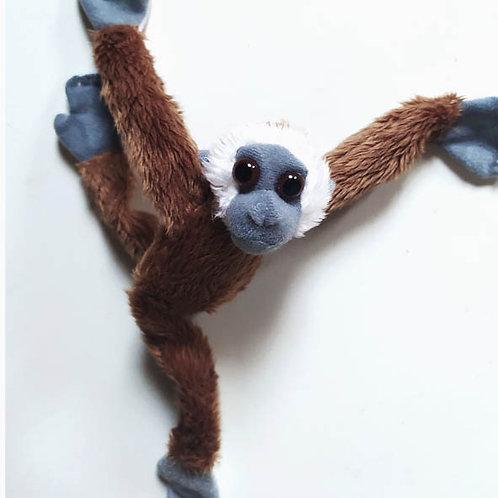 Magnet gibbon marron
