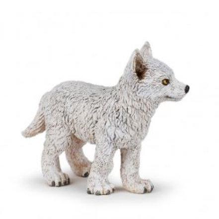 Figurine Papo - jeune loup polaire
