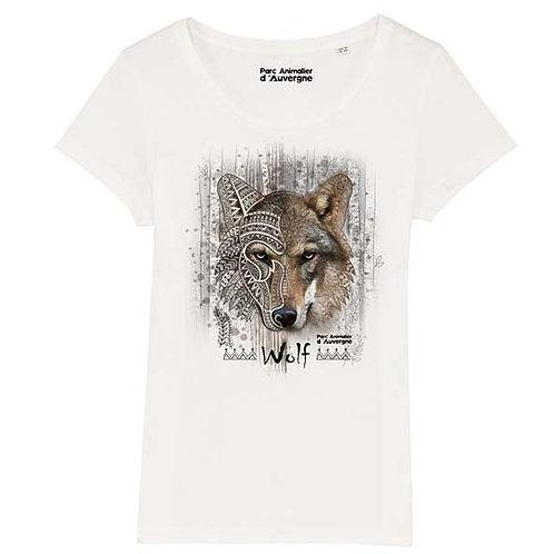 Tee Shirt femme loup