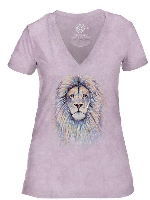 Tee Shirt femme lion - The Mountain