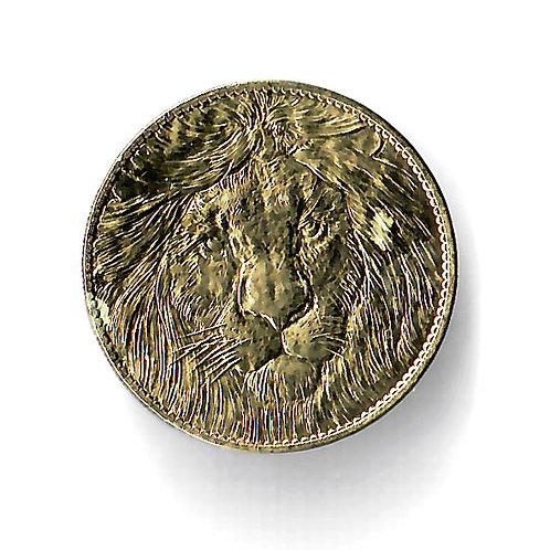 Médaille souvenir lion