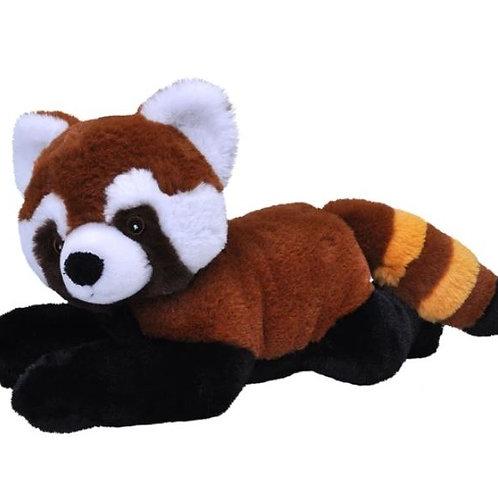Peluche Panda roux 30 cm - 100% recyclée