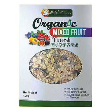 Organic Mixed Fruit Muesli 400gm