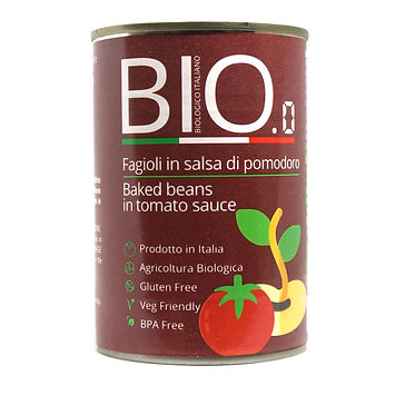 Organic Baked Beans 400gm Can