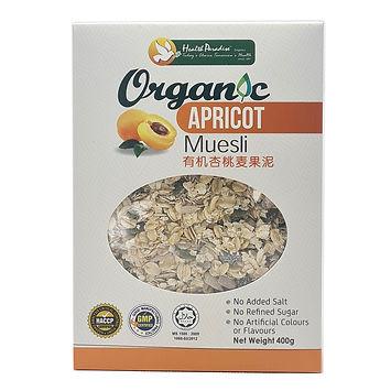 Organic Apricot Muesli 400gm